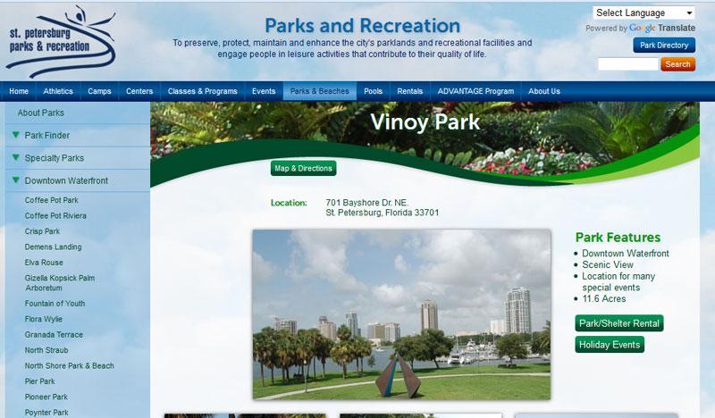 Vinoy Park